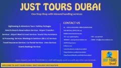 Welcome To Just Tours Dubai – Best Holiday Destination Queenstown Singapore | Tangtu.my 3