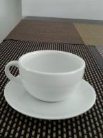 Fine Porcelain Cappuccino Cup (Set of 12) for Sale