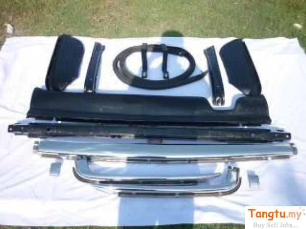Mercedes benz W107,  W108 Stainless Steel Bumpers Kepong Kuala Lumpur | Tangtu.my