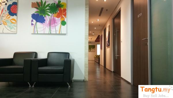 Affordable Price with City View (Serviced Office) - Plaza Sentral Brickfields Kuala Lumpur | Tangtu.my