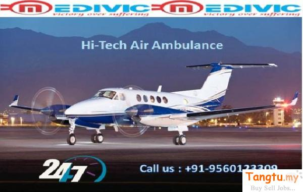 24/7 Emergency Air Ambulance Service in Patna with Medical Team Bandar Perda Penang | Tangtu.my