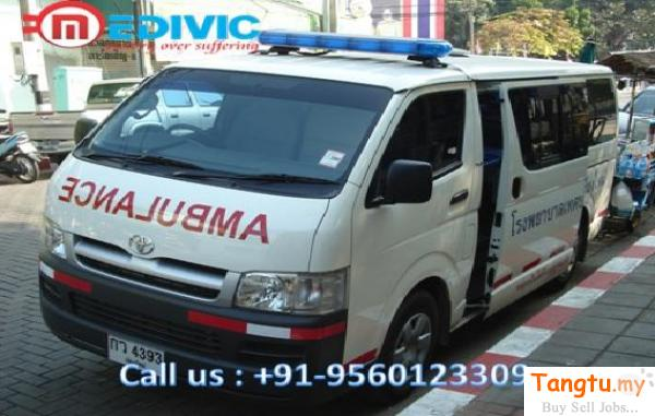 Hire the Quickest Road Ambulance Service in Saket with Doctor Team Brickfields Kuala Lumpur | Tangtu.my