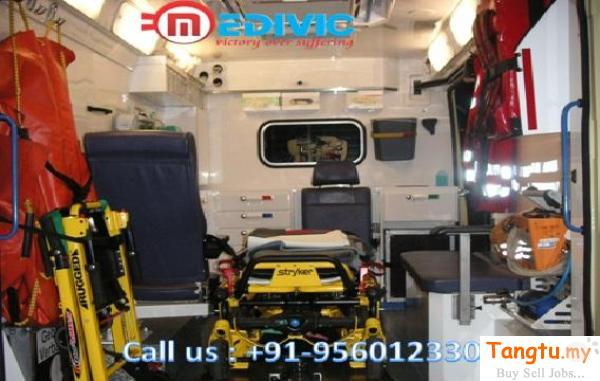 Find the Best Road Ambulance Service in Vasantkunj at the Low Fare Bukit Rotan Selangor | Tangtu.my