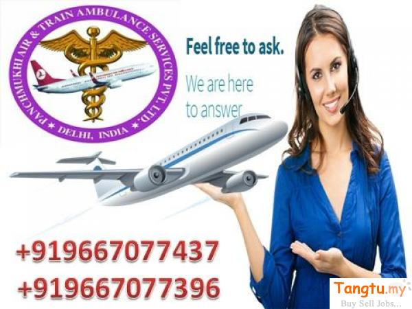Panchmukhi Low Charges Air Ambulance Services in Bagdogra Menumbok Sabah | Tangtu.my