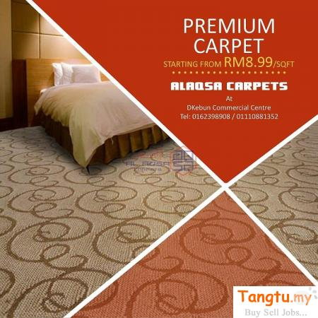 PREMIUM QUALITY CARPETS - PREMIUM CARPET STOCK CLEARANCE Klang - Tangtu Malaysia-Singapore Free Classified Ads