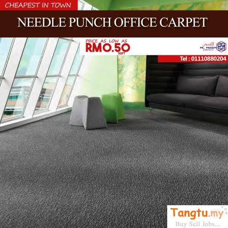NEEDLE PUNCH CARPET INSTALLATION IN MALAYSIA Klang - Tangtu Malaysia-Singapore Free Classified Ads