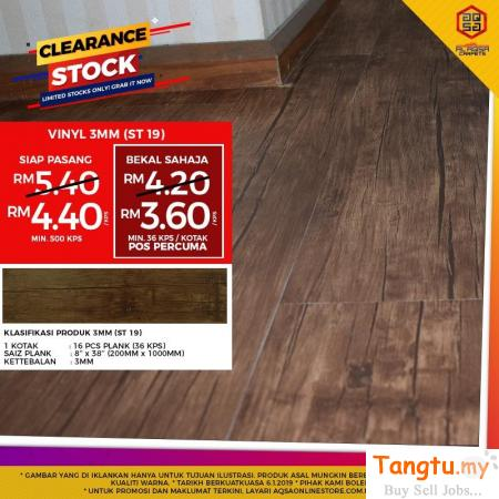 SHOP VINYL FLOORING BY COLOR AND FINISH Klang Selangor | Tangtu.my