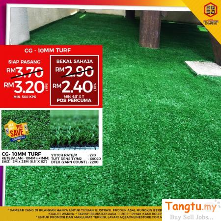 Artificial Grass Carpet - Fake but looks like real grass Klang Selangor | Tangtu.my