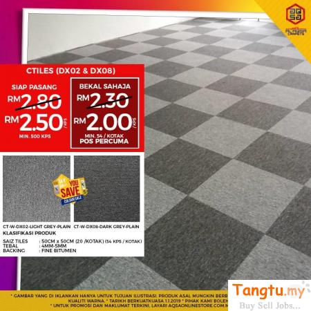 If you're looking for the best quality Carpet Tiles then you're at the right place Klang Selangor | Tangtu.my