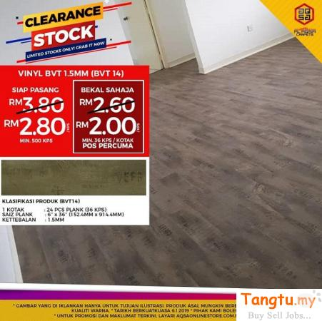 OUR GUARANTEE THAT YOU WILL LOVE YOUR NEW FLOOR!! Klang Selangor | Tangtu.my