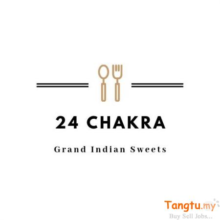 Buy 100+ Indian desserts made from Milk & Ghee At 24chakra in USA Jurong Singapore | Tangtu.my