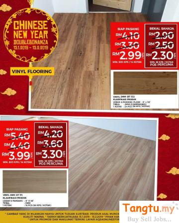 Wood Vinyl - Get Best Floor Look At cheapest Price In M'sia Klang Selangor | Tangtu.my