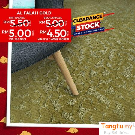 Promo Premium Carpet - Make a Beautiful home At Low cost Klang Selangor | Tangtu.my