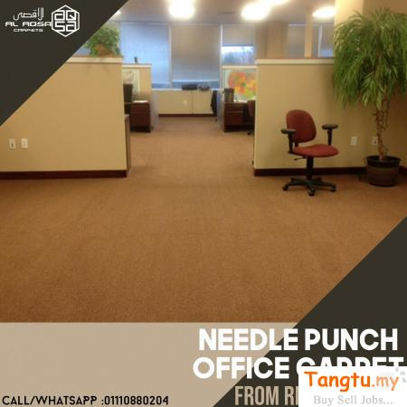 CHANGE YOUR OFFICE LOOK GOOD TO BETTER WITH NEEDLE PUNCH CARPET Klang Selangor | Tangtu.my