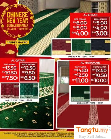 It's The Best Time To Change Your Mosque Decor! Klang Selangor | Tangtu.my