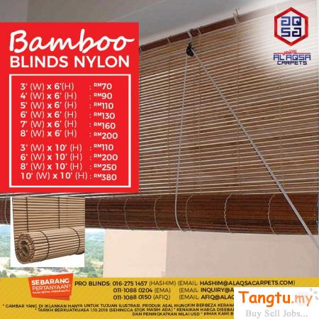 ATTRACTIVE BLINDS AT CHEAPEST PRICE -BUY NOW, SAVE MORE Klang Selangor | Tangtu.my