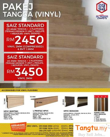 ADD A CHARMING TOUCH TO STAIRS WITH THIS STAIRCASE VINYL! Klang Selangor | Tangtu.my
