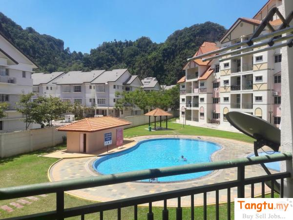 Alpine Village (3 rooms 2 bathrooms)Apartment, Sunway City Ipoh, Ipoh, fully furnished room to let Ipoh Perak | Tangtu.my