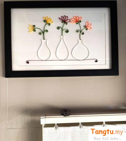 Unique Flower-Port frame for gift to someone special on any Occasion Setiu Terengganu | Tangtu.my