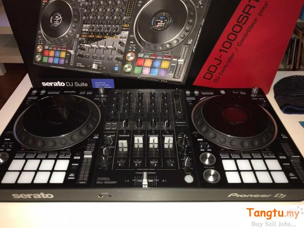Brand New Pioneer DJ DDJ-1000SRT 4-Channel Professional DJ Controller for rekordbox dj Lubok China Melaka | Tangtu.my
