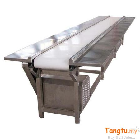 Flat belt conveyor for conveying, packaging, sorting and assembly Selayang Selangor | Tangtu.my