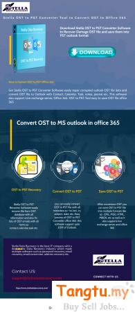 How to Recover OST file to PST file Sri Petaling Kuala Lumpur   Tangtu.my